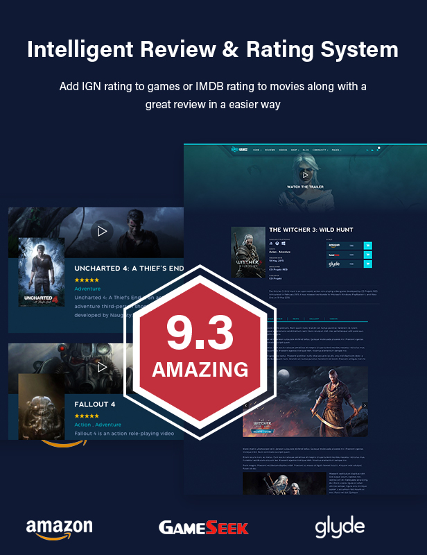 Best WordPress Review Theme For Games, Movies And Music - Gamez - 12